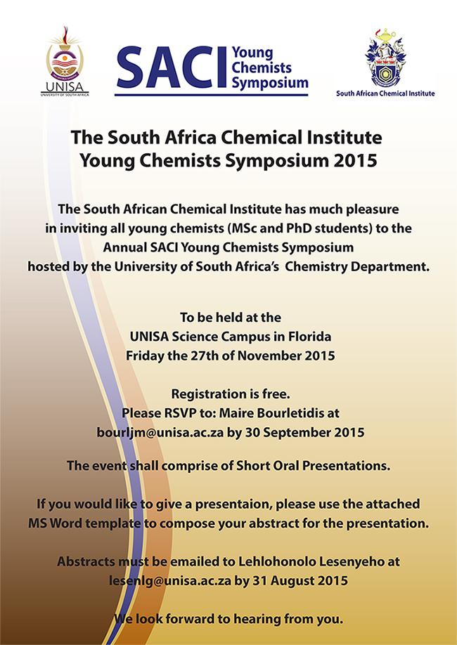 saci young chemists symposium 2015